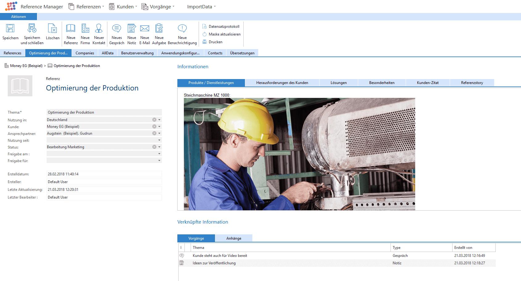 Referenzen verwalten - Reference Manager