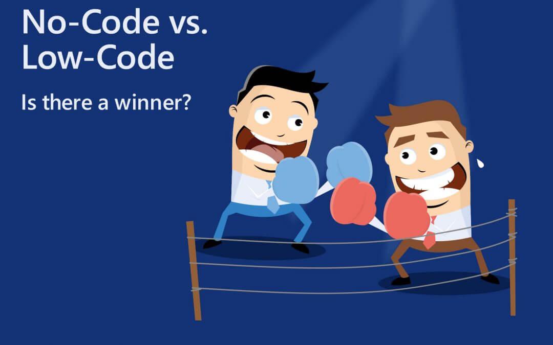 No-Code vs. Low-Code-Plattform