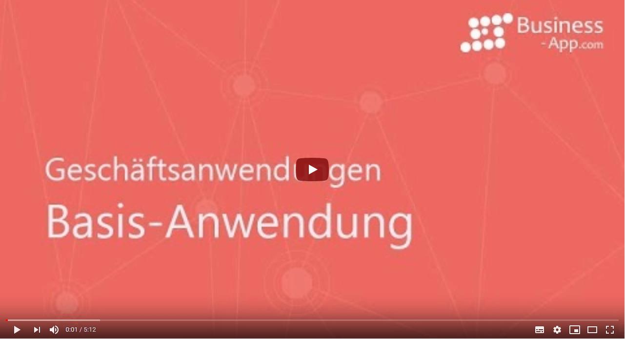 Video zu Business App Geschäftsanwendungen, GEDYS-IntraWare